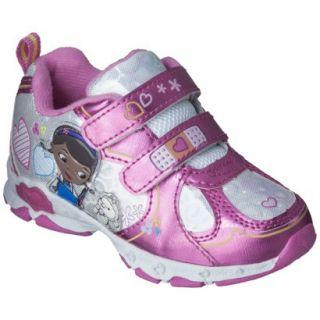 Toddler Girls Doc McStuffins Sneakers   Pink 6