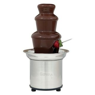 Sephra Select Home Fondue Fountain 16   Stainless