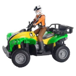 Bruder Quad 4 Wheeler with Driver
