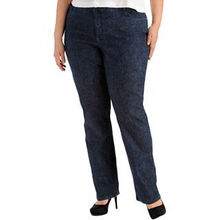 Lee Classic Fit Monroe Jeans   Plus, Indigo Bl Paisley, Womens