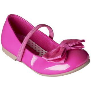 Toddler Girls Cherokee Daphne Ballet Flat   Pink 11
