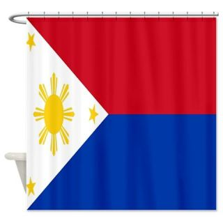 CafePress Philippines Flag Shower Curtain Free Shipping! Use code FREECART at Checkout!