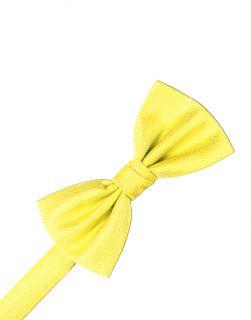 Sunbeam Herringbone Formal Bow Tie