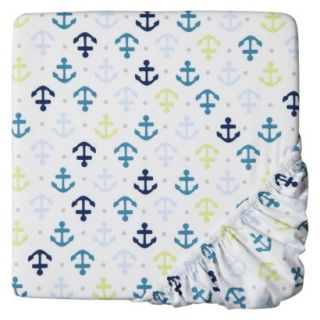 Whales n Waves Fitted Crib Sheet by Circo