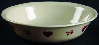 Corning Hometown Fruit/Dessert (Sauce) Bowl, Fine China Dinnerware   Corelle,Red