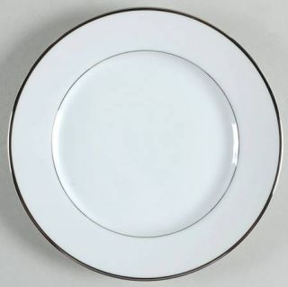 International Wedding Ring Bread & Butter Plate, Fine China Dinnerware   Platinu