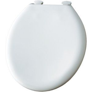 Church 300SLOWT 346 Universal Slow Close Sta Tite Round Closed Front Toilet Seat