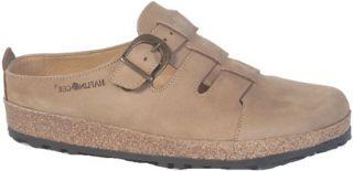 Haflinger Closed Toe Sandal Clog   Tan Casual Shoes
