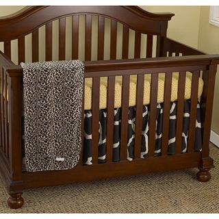COTTON TALES Cotton Tale Sumba 3 pc. Baby Bedding, Gold/Brown