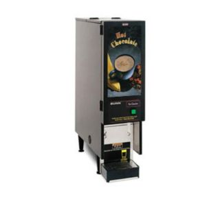 BUNN O Matic FMD 1 BLK Hot Powdered Drink Machine, Hot Chocolate Display