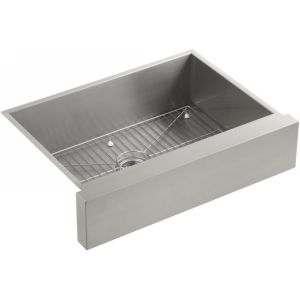 Kohler K 3936 NA Vault Vault Under Mount Apron Front Kitchen Sink,29 1/2 x 21 1