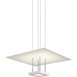 Sonneman Lighting SON 2402 03 Chromaglo Bright White LEDuare Reflector Pendant