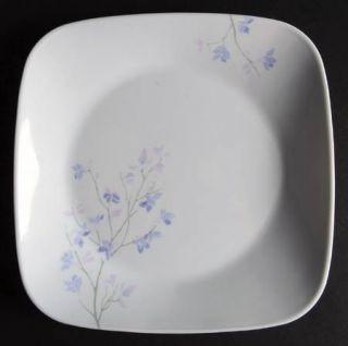 Corning Jacaranda Salad/Dessert Plate, Fine China Dinnerware   Corelle,Square,Fl