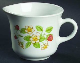 Corning Strawberry Sundae Creamer, Fine China Dinnerware   Corelle, Strawberry P