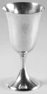 Frank Whiting 044 (Sterling, Hollowware) Water Goblet   Sterling, Hollowware Onl