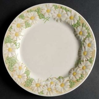 Metlox   Poppytrail   Vernon Sculptured Daisy Dinner Plate, Fine China Dinnerwar