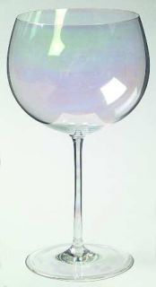 Dorothy Thorpe Bubble Clear (Iridescent) Water Goblet   Clear, Iridescent,  Plai