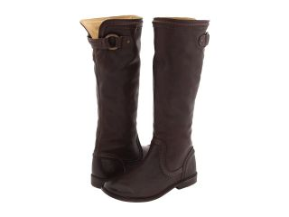 Frye Paige Trapunto Womens Pull on Boots (Brown)