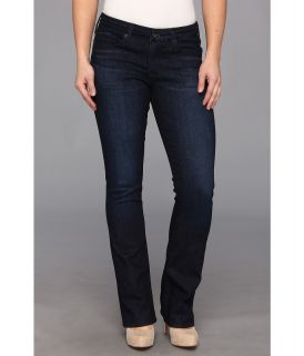 Big Star Petite Sarah Mid Rise Slim Bootcut Jean in Holly Midnight Womens Jeans (Black)