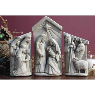 Carruth Studio Inc Nativity Set Garden Statue   1093 SET