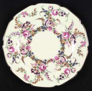Rosenthal   Continental Linnie Lee Dinner Plate, Fine China Dinnerware   Ivory,F