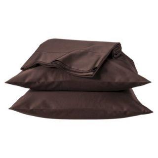Fieldcrest Luxury 600 Thread Count Sheet Set   Mesa Brown (California King)