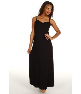 Tommy Bahama Tambour Classic Long Dress Womens Dress (Black)