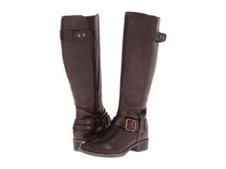 Hush Puppies Chamber 14BT Wide Calf Womens Dress Zip Boots (Brown)