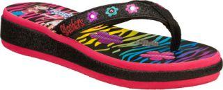 Infant/Toddler Girls Skechers Twinkle Toes Sunshines Summerglow   Black/Multi V