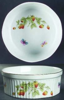 Royal Crown (Japan) Spring Time Souffle, Fine China Dinnerware   Strawberries &