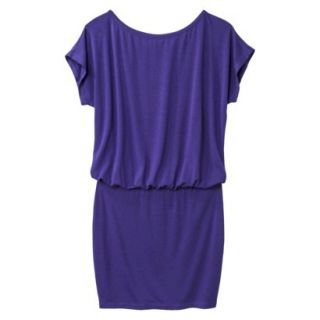 Mossimo Supply Co. Juniors Boxy Top Body Con Dress   Kindred Blue XL(15 17)