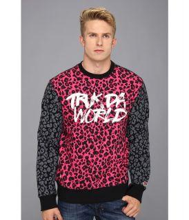 Trukfit Truk Da World Sweatshirt Mens Sweatshirt (Purple)