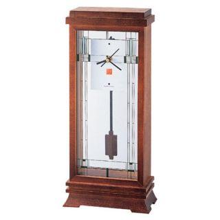 Bulova Corp Frank Lloyd Wright Collection   Willits Mantel Clock by Bulova