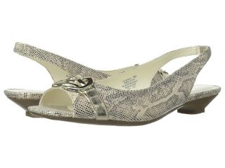 Anne Klein Jannah Womens Sling Back Shoes (Gold)