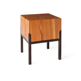 Miles & May PW Stool 1.02 Finish: Body: Heart Pine / Legs: Wenge