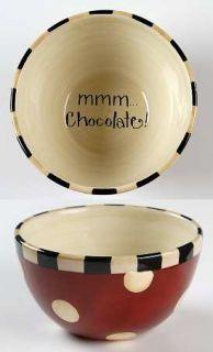 Family Table Individual Ice Cream Dish, Fine China Dinnerware   Words,Utensils,S