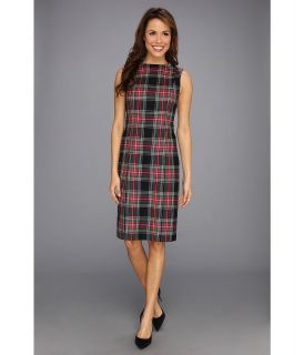 Pendleton Worsted Wool Flannel Simone Sheath Dress Womens Dress (Multi)