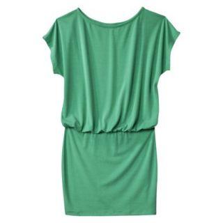 Mossimo Supply Co. Juniors Boxy Top Body Con Dress   Trinidad Green L(11 13)