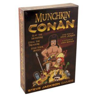 MUNCHKIN CONAN The Barbarian Steve Jackson Game