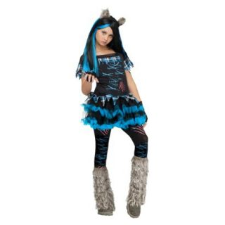 Girls Wicked Wolf Costume