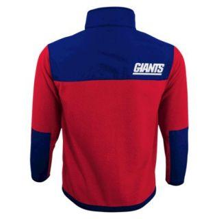 NFL Zip Fleece Shirt Giants S