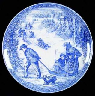 Spode Victorian Annual Christmas  1997 Annual Christmas Plate, Fine China Dinner