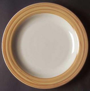 Gibson Designs Stylish Living Camel Dinner Plate, Fine China Dinnerware   Stylis