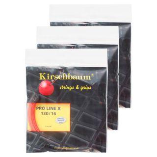 Kirschbaum Pro Line X 1.30 Sample 3 Pack Tennis String