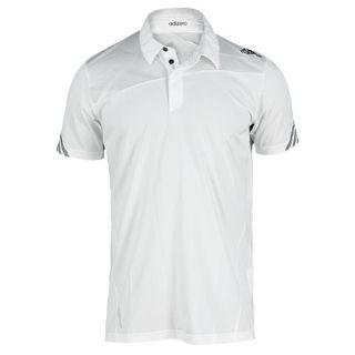 Adidas Men`s Adizero Wimbledon Tennis Polo White Xsmall