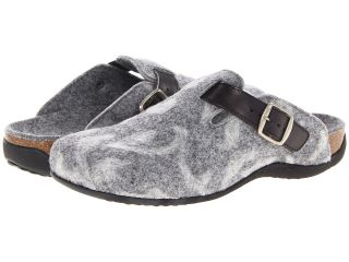 VIONIC with Orthaheel Technology Flores Textile Mule Womens Clog/Mule Shoes (Gray)