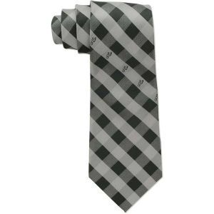 San Antonio Spurs Eagles Wings Polyester Checked Tie
