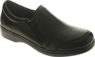 Womens Spring Step Barcelona   Black Leather Casual Shoes