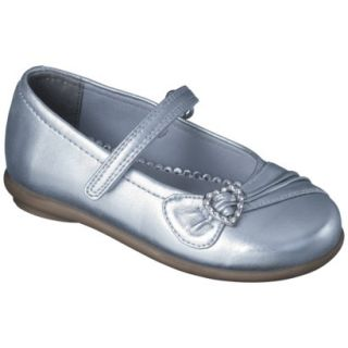 Toddler Girls Rachel Shoes Gemma Mary Jane Shoes   Silver 8