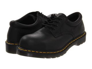 Dr. Martens Work 2216 ST 4 Eye Padded Collar Gibson Mens Lace up casual Shoes (Black)